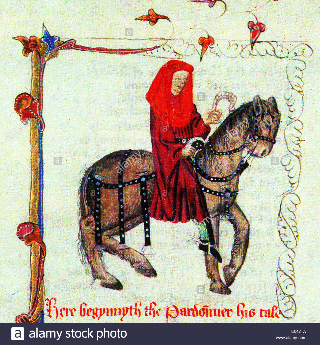 an analysis of the pardoner a character in geoffrey chaucers the pardoners tale In geoffrey chaucer's story, canterbury tales, many of the characters on the pilgrimage make this statement evident with the tales that they tell 3 / 614 canterbury tales:the pardoner.
