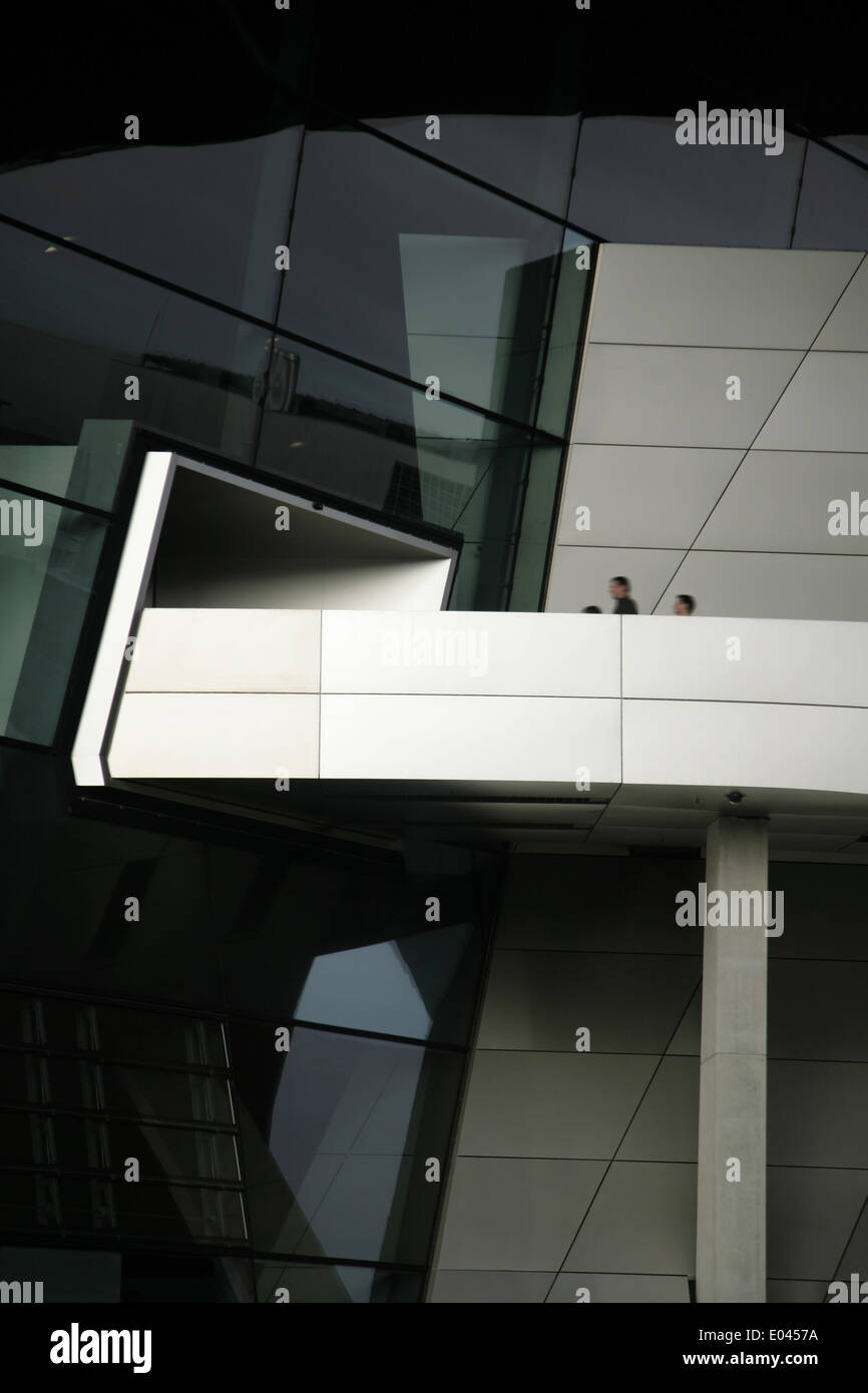 BMW-Welt or BMW World, Munich, Germany. - Stock Image