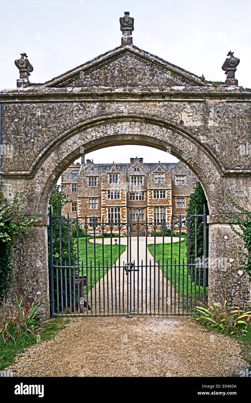 Chastleton in Oxfordshire, a jacobean country house; ein Herrenhaus in Oxfordshire - Stock Image