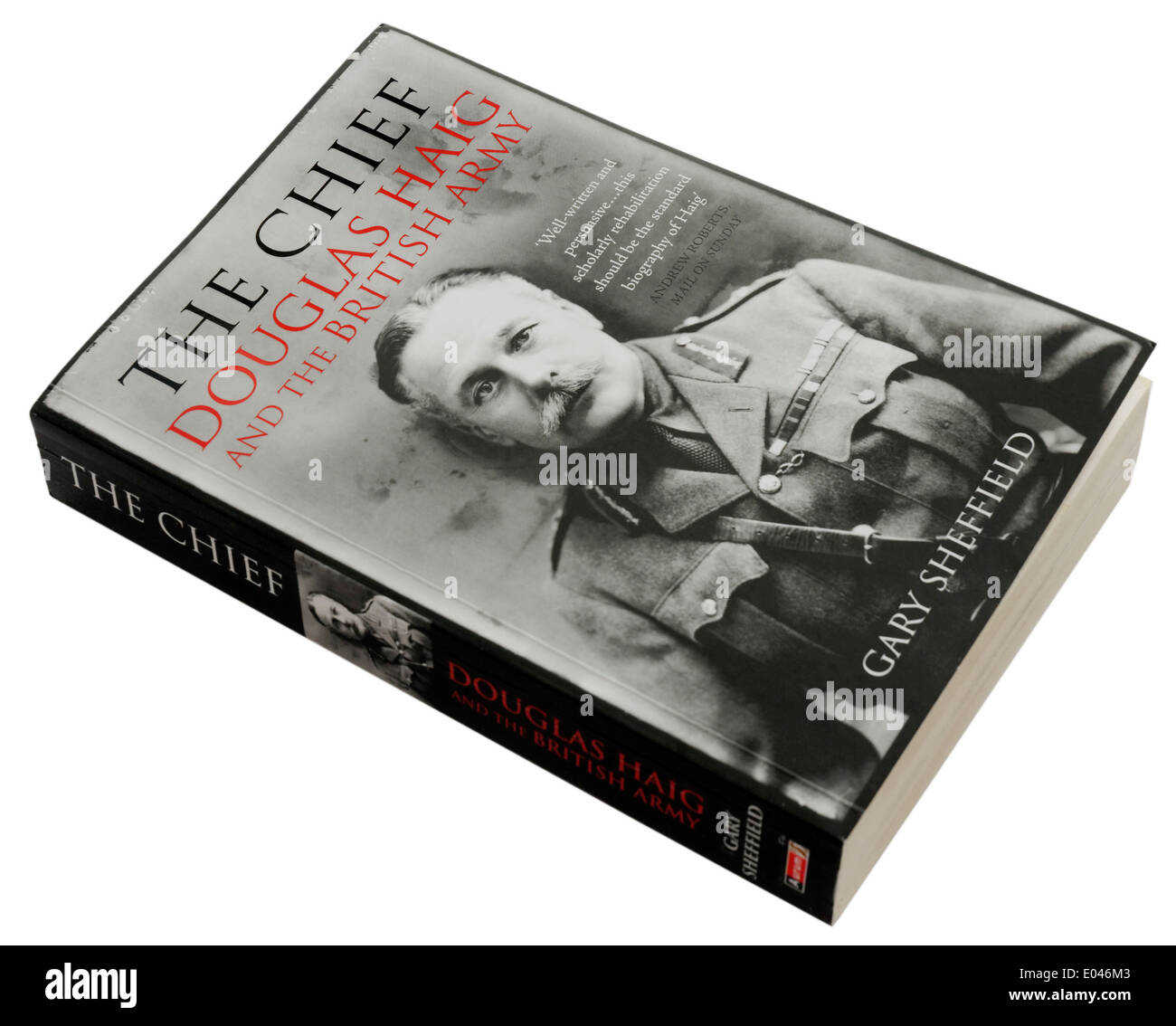 The Chief: Douglas Haig and the British Army by Gary Sheffield - Stock Image