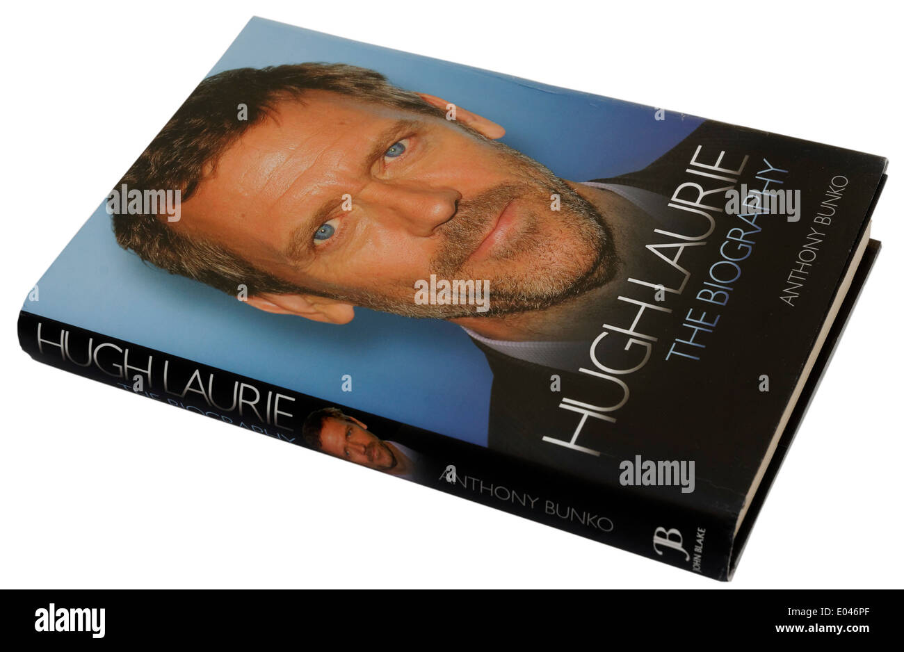 Hugh Laurie biography by Anthony Bunko - Stock Image