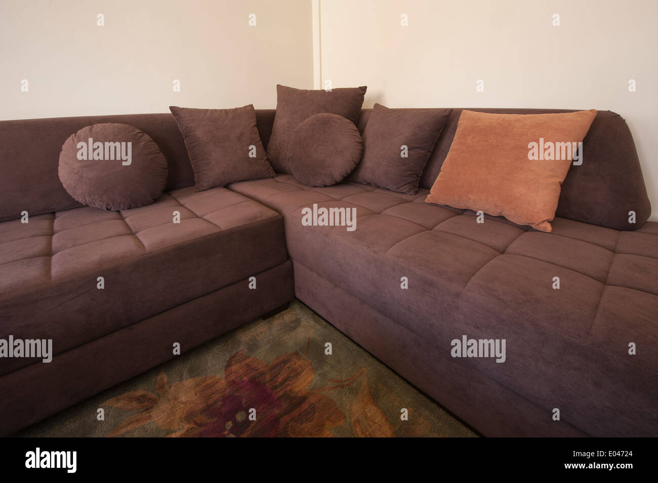 L Shaped Sofa High Resolution Stock Photography And Images Alamy