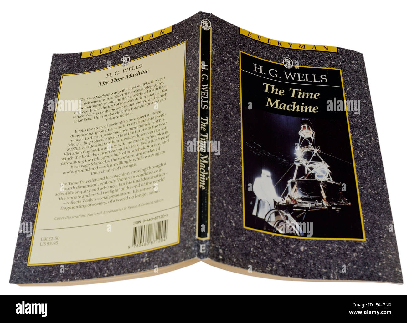The Time Machine by HG Wells - Stock Image