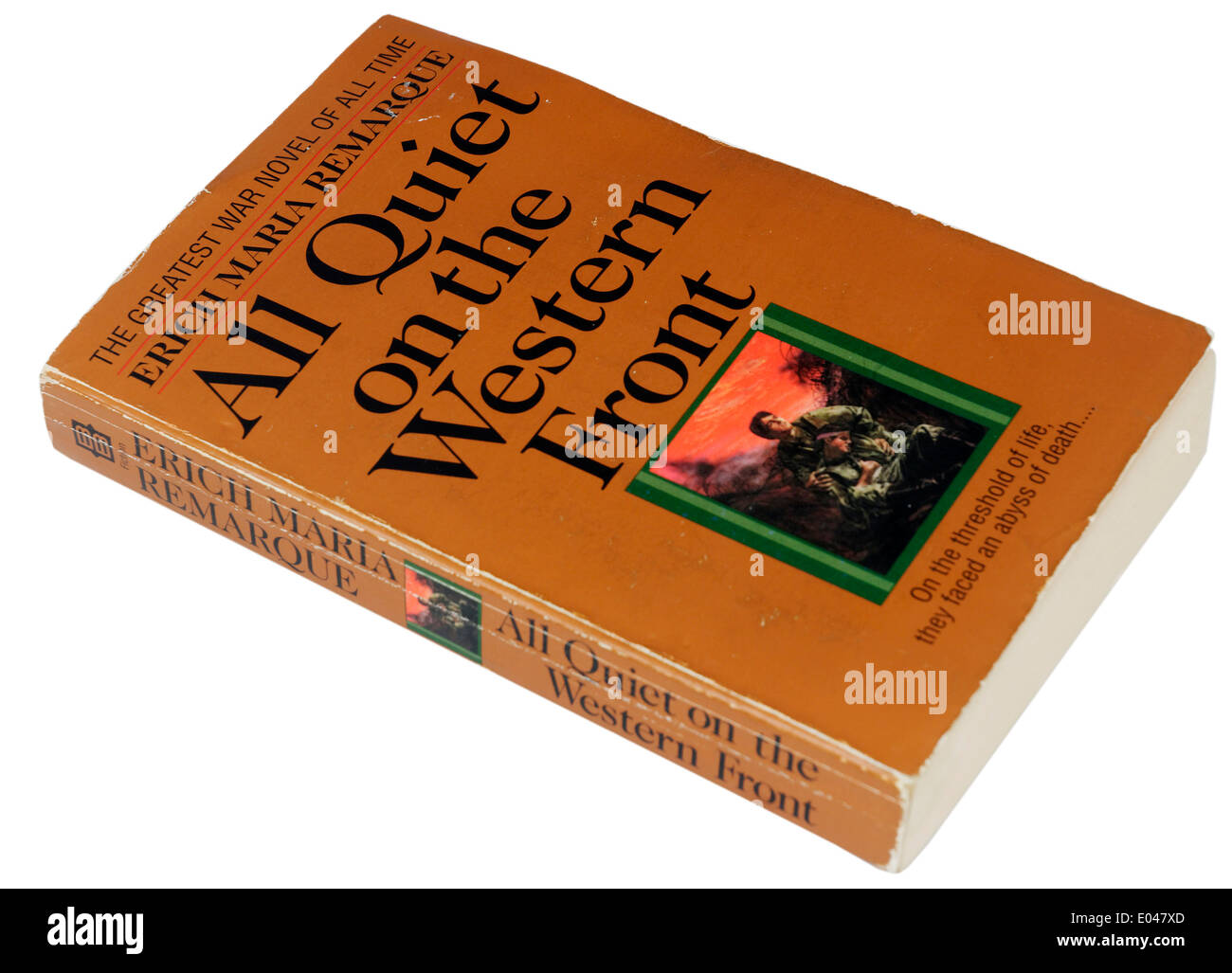 All Quiet on the Western Front by Erich Maria Remarque - Stock Image