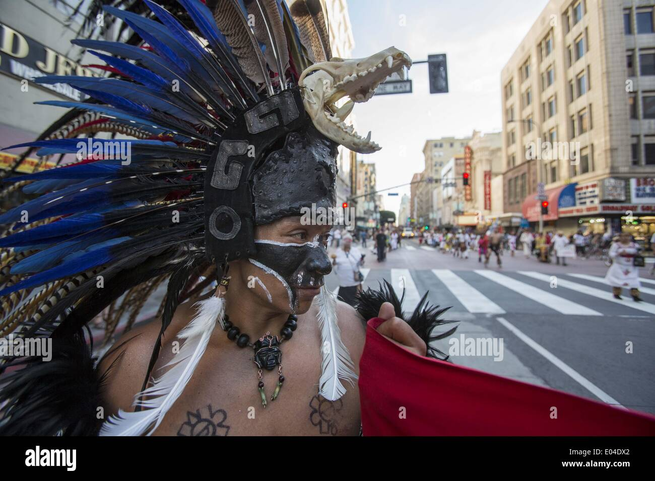 Los Angeles California Usa 1st May 2014 Mexican Indigenous