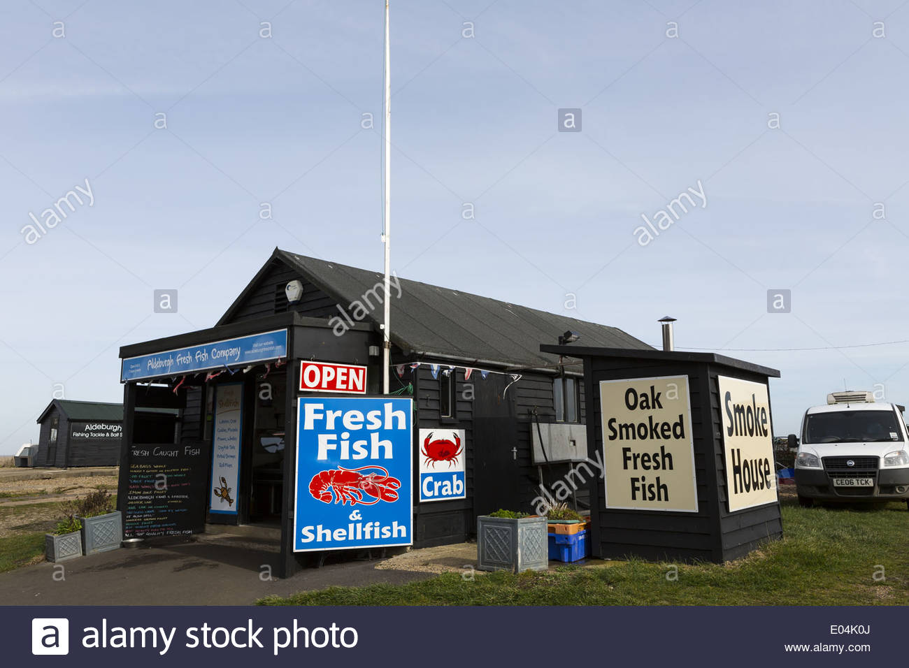 Fish Hut On The Beach In Aldeburgh Suffolk England Uk Advertising