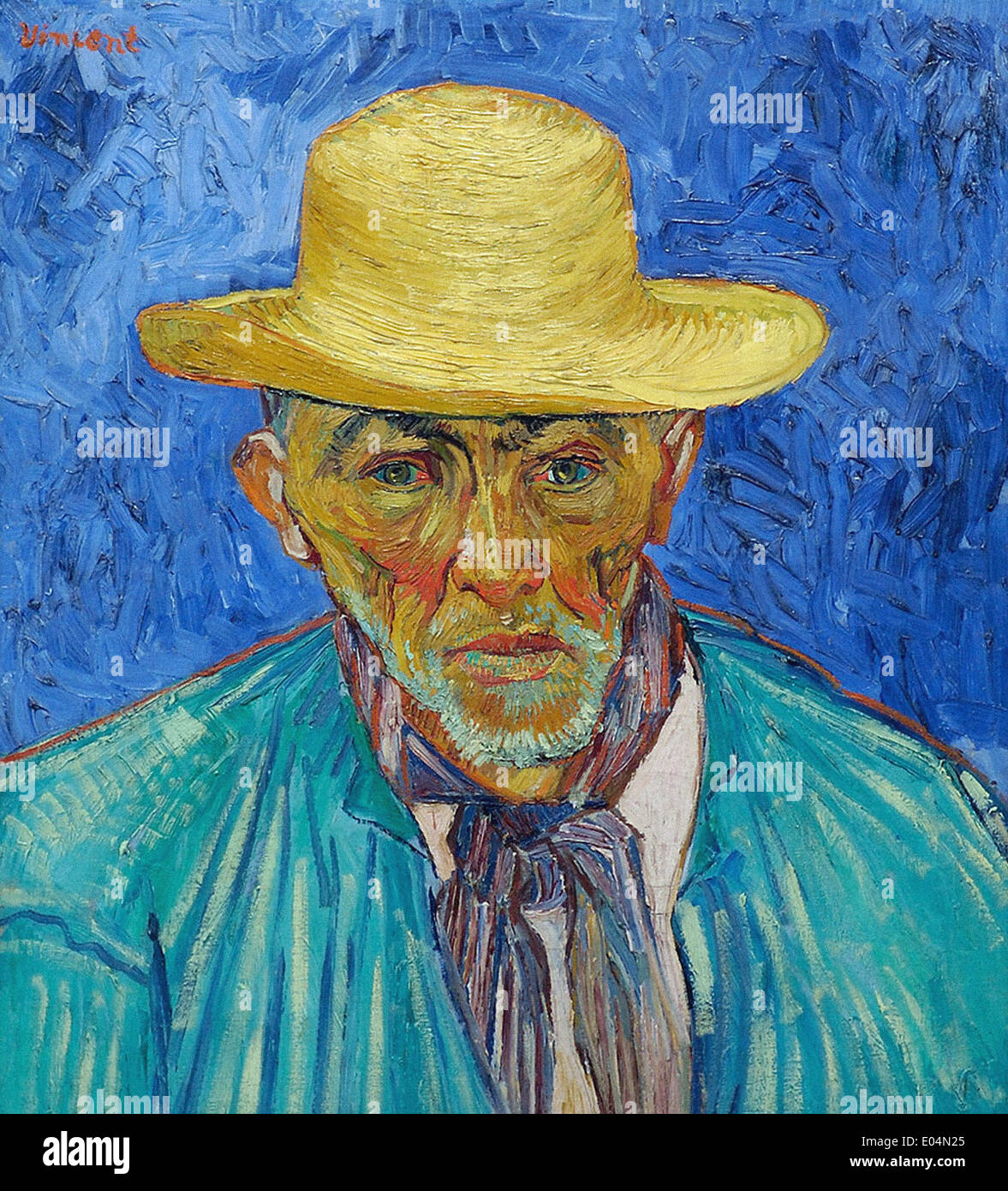 Vincent van Gogh Peasant - Stock Image