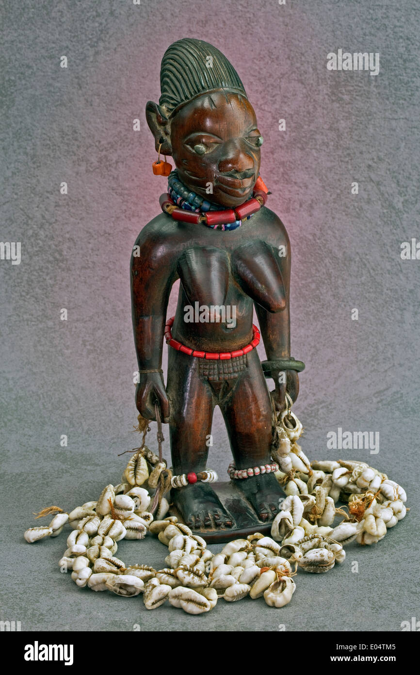 Ibeje female from Yoruba culture - Stock Image