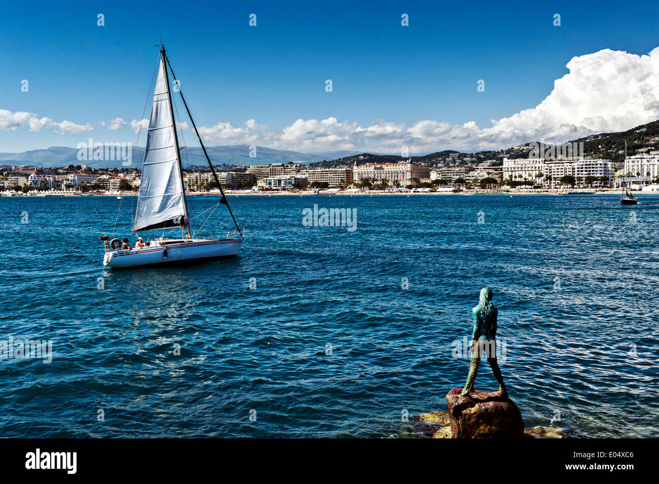 Europe, France, Alpes-Maritimes, Cannes. The vigie. - Stock Image