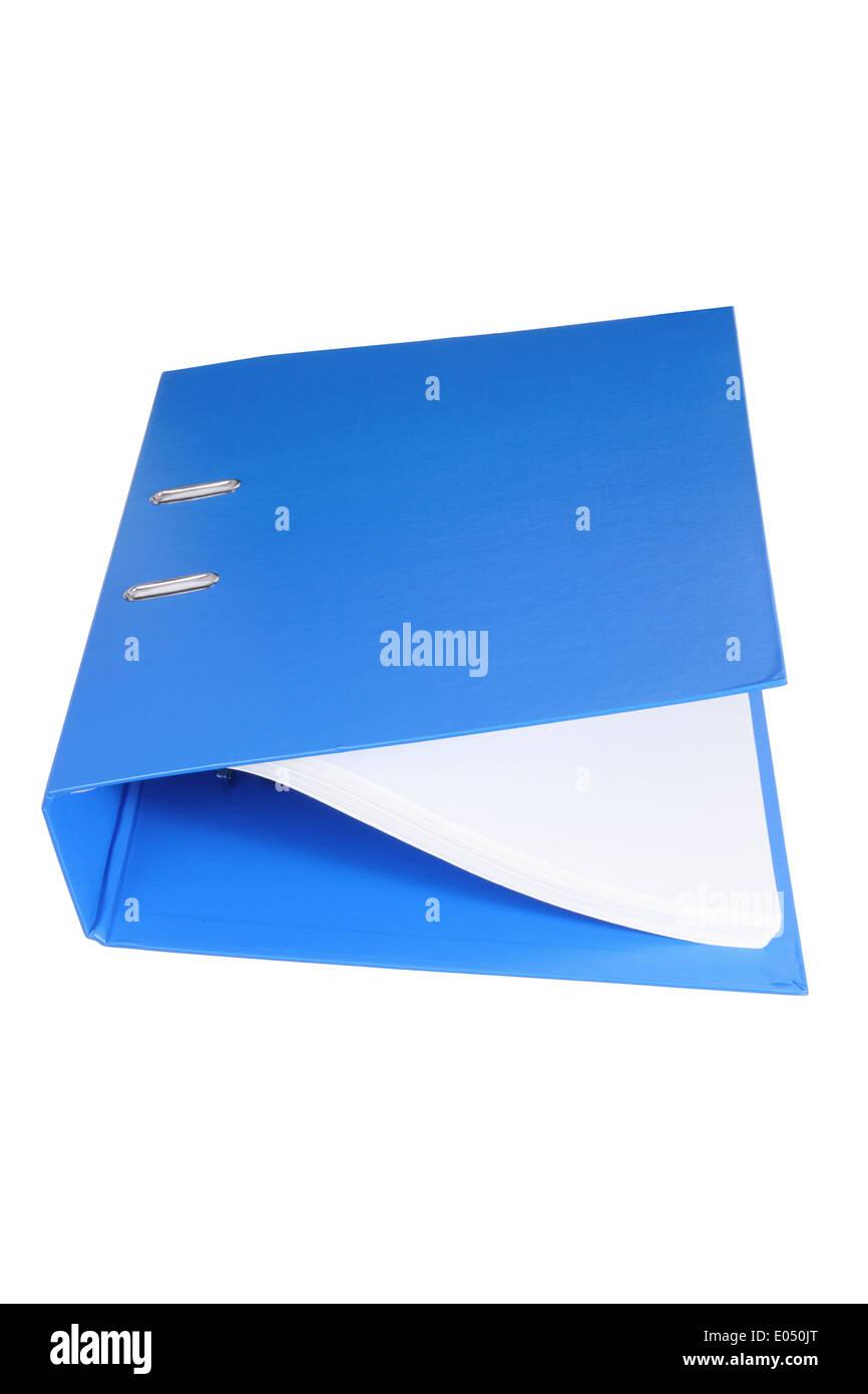 Binder Folder - Stock Image