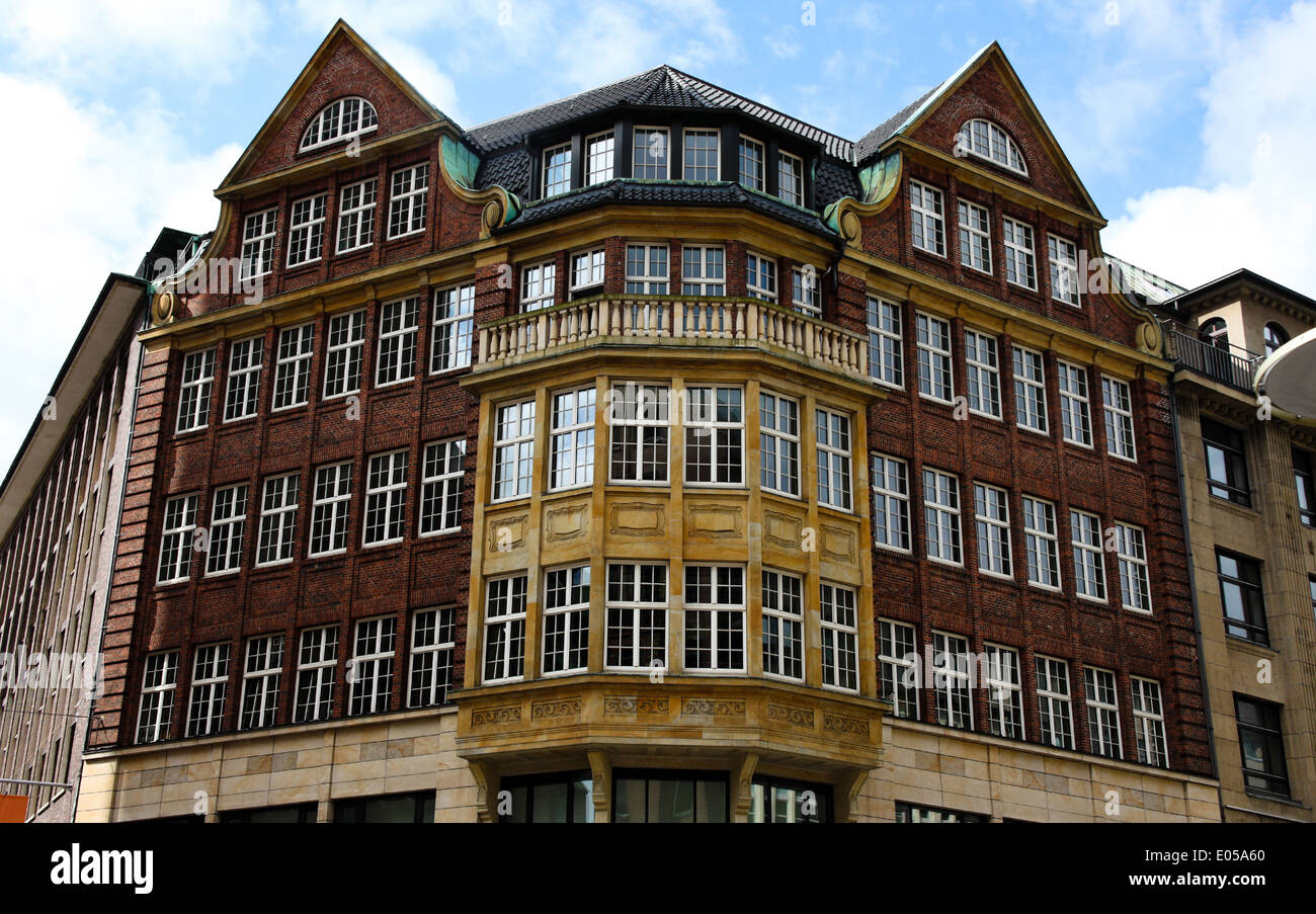 View architecture Germany Europe building Hamburg house