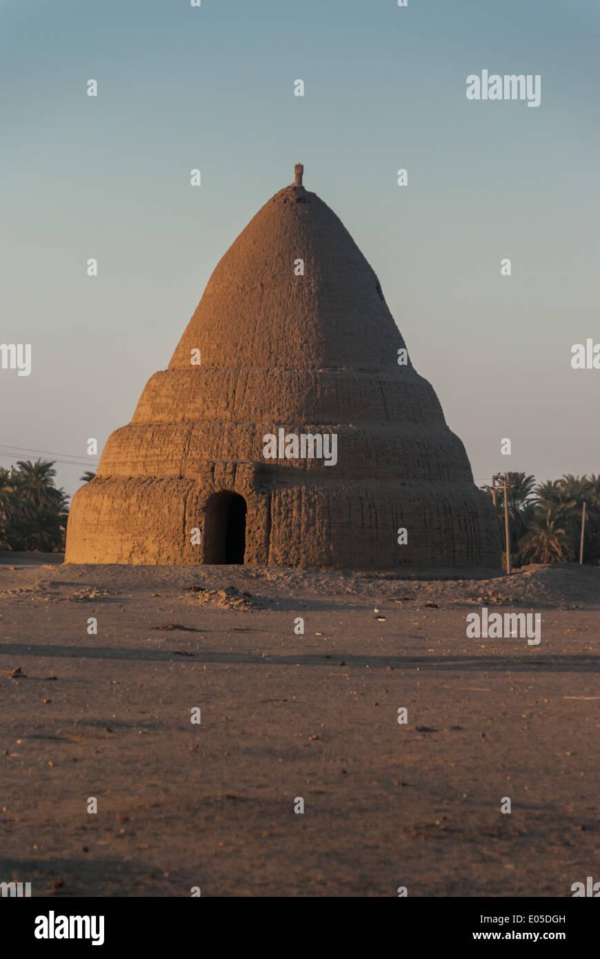 Qubba, Kerma, northern Sudan - Stock Image