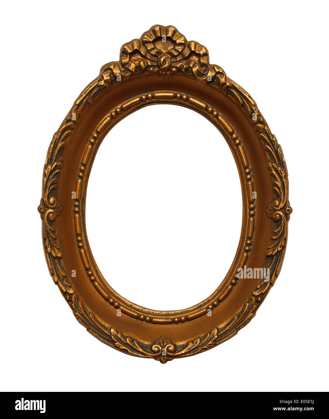 Round Ornate Picture Frame Stock Photos & Round Ornate Picture Frame ...