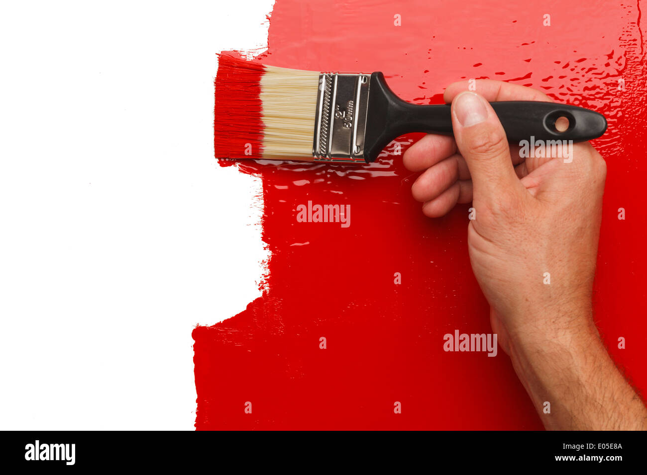 Wall Brush Stock Photos Wall Brush Stock Images Alamy