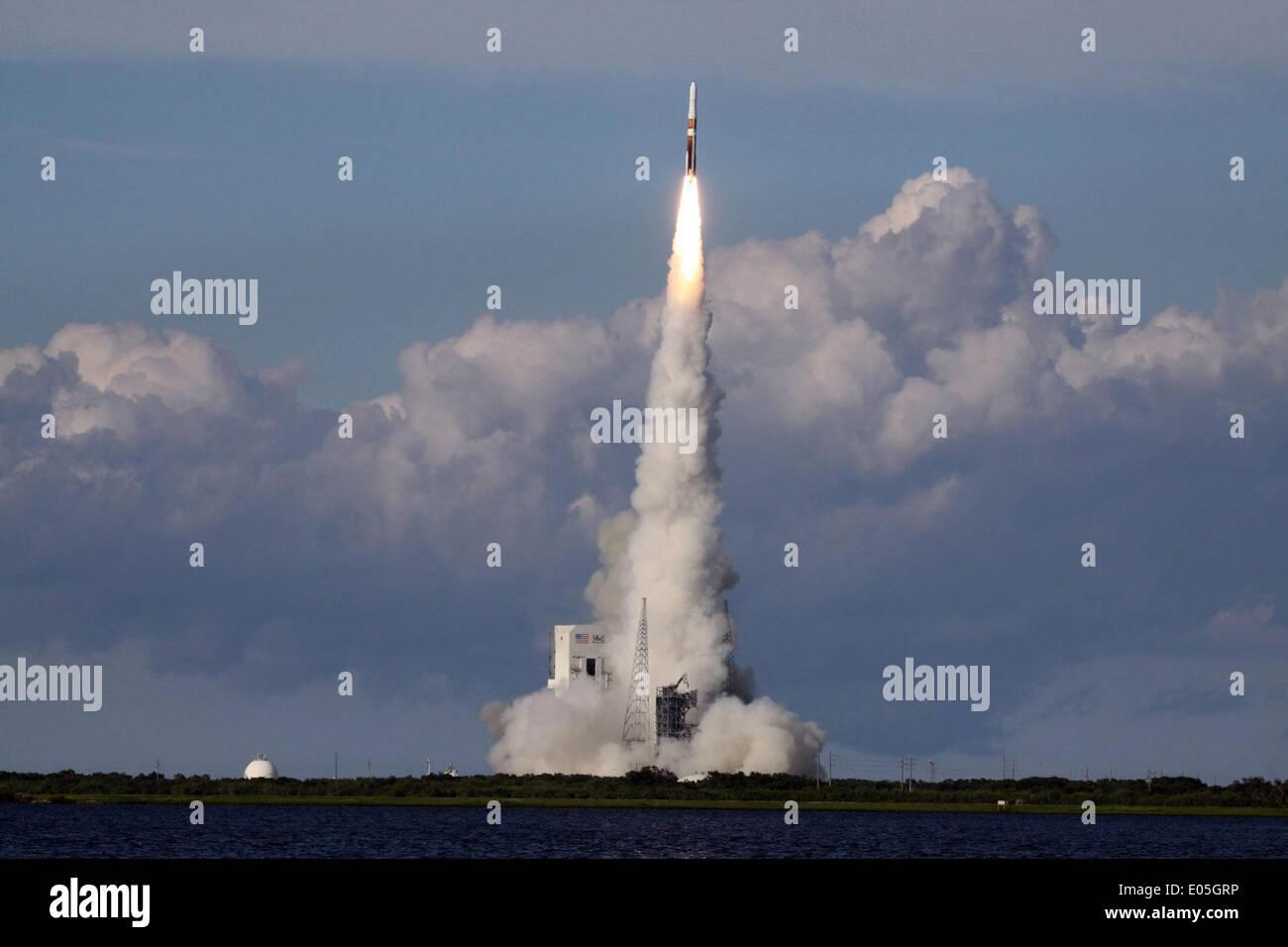 Soaring Spaceward - Stock Image