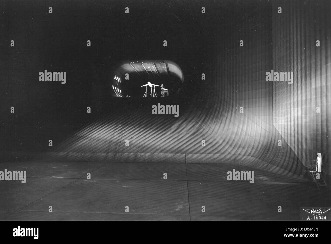 Behold, the world's largest wind tunnel! - Stock Image