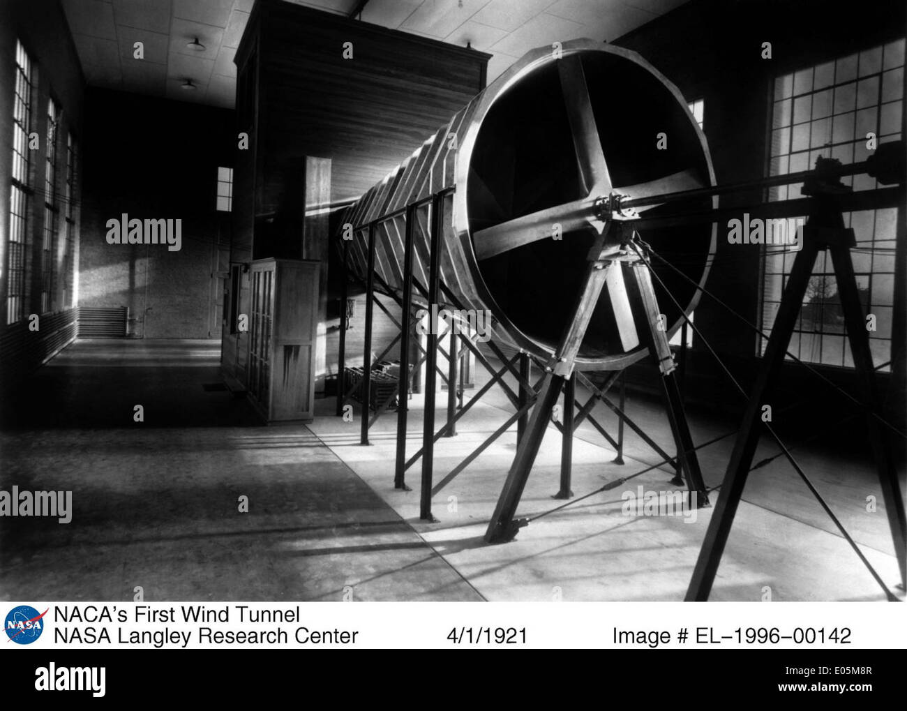 The NACA's First Wind Tunnel - Stock Image
