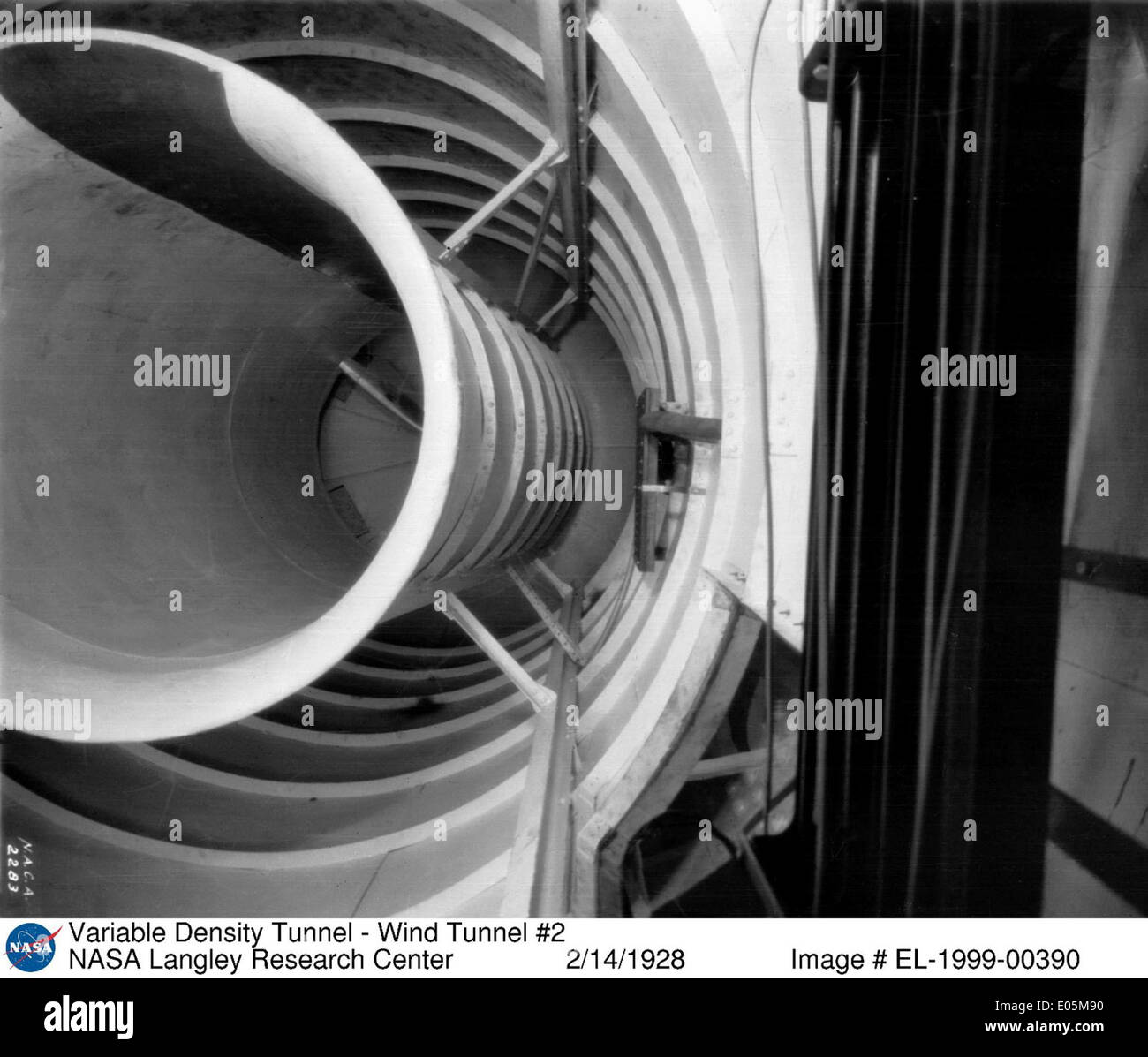 Variable Density Wind Tunnel - Stock Image