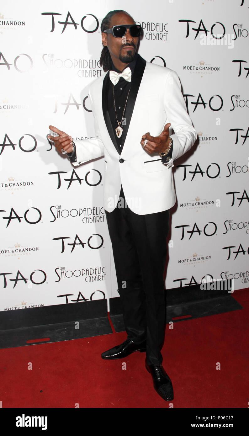 Las Vegas, Nevada, USA. 3rd May, 2014. Rapper Snoop Dogg debuts ...