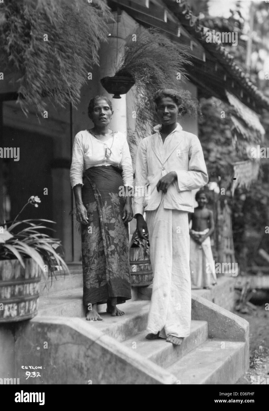 Ceylon (Sri Lanka) - Stock Image