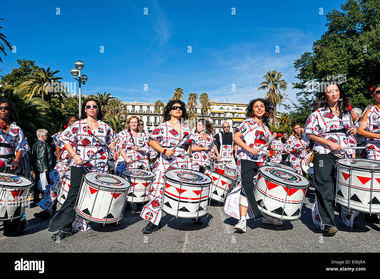 Europe, France, Alpes-Maritimes, Nice. Carnival. Stock Photo
