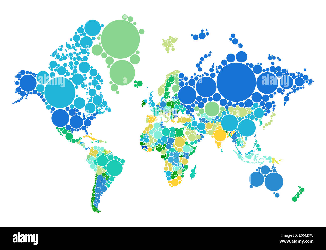 Political Dot World Map With Countries Illustration Map Source Nasa