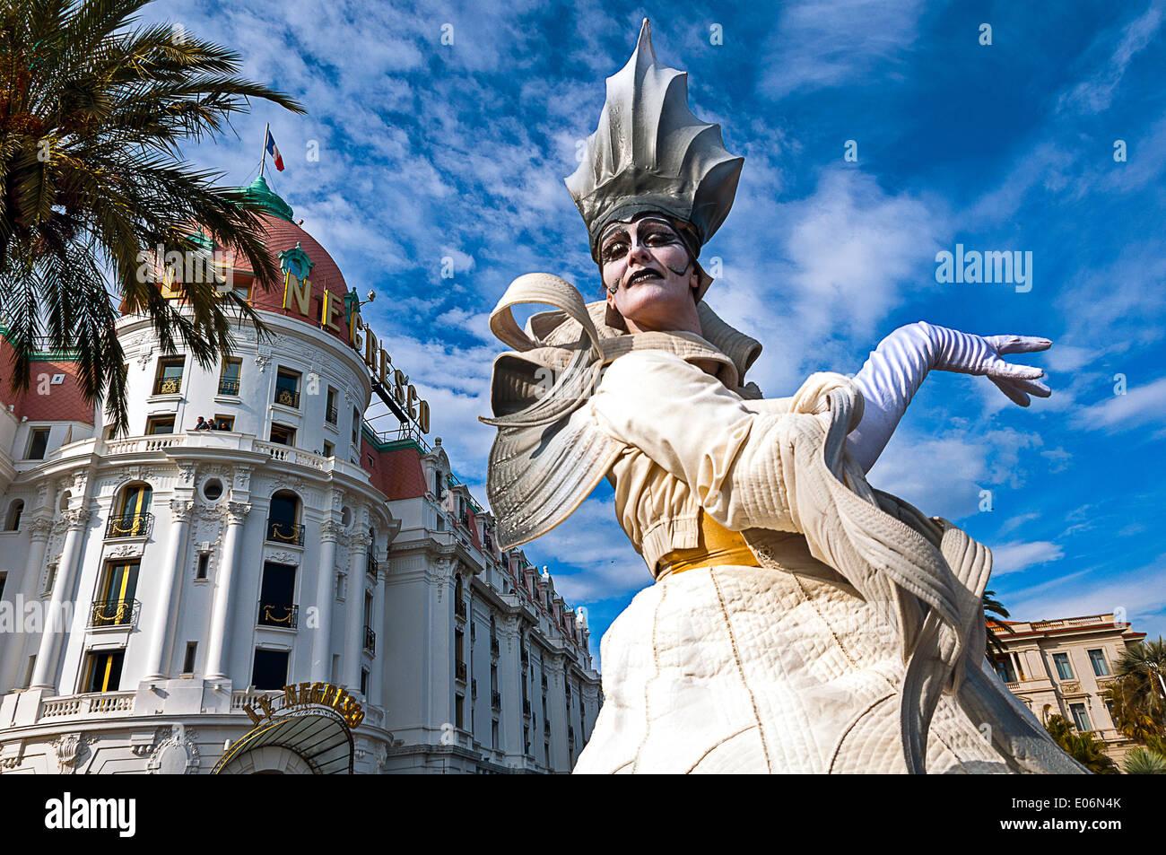 Europe, France, Alpes-Maritimes, Nice. Carnival. - Stock Image