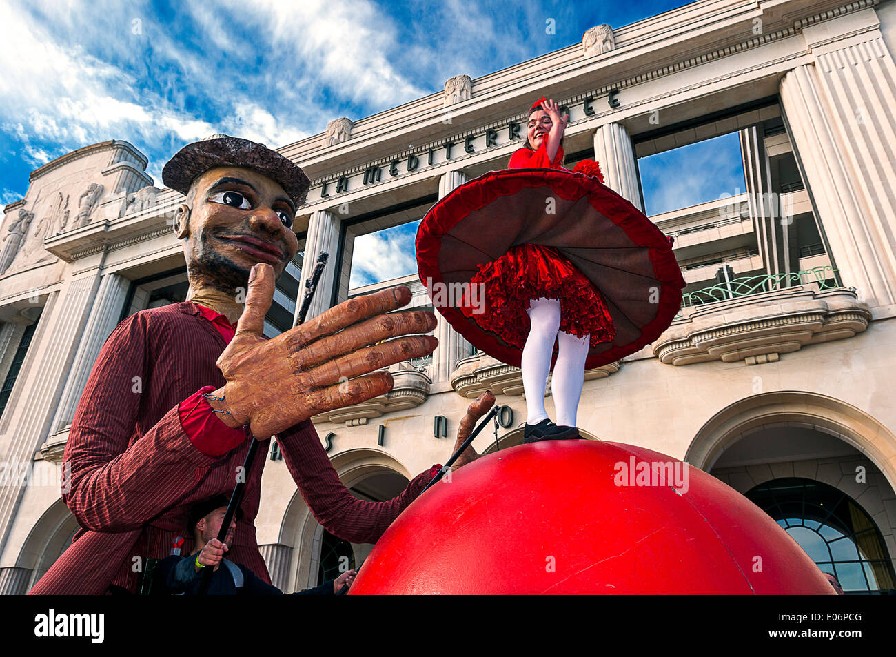 Europe, France, Alpes-Maritimes, Nice. Carnival. - Stock Image