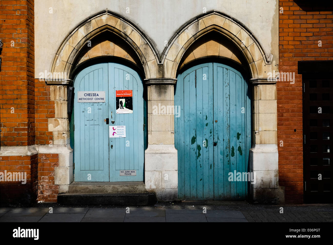 Arched Doors - Stock Image