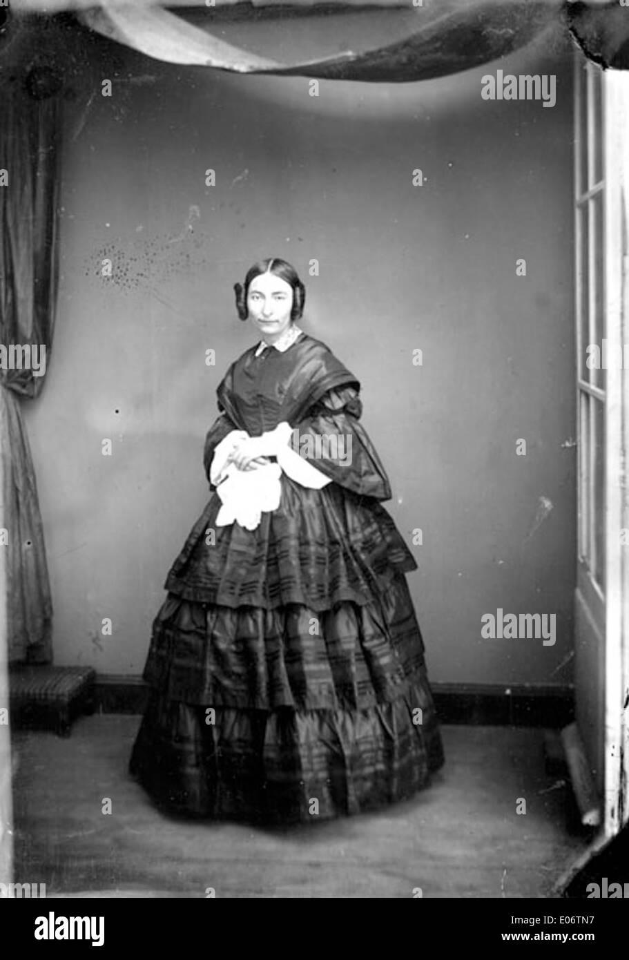 madame chastagnier, atelier vidal, vers 1860 stock photo: 68992595