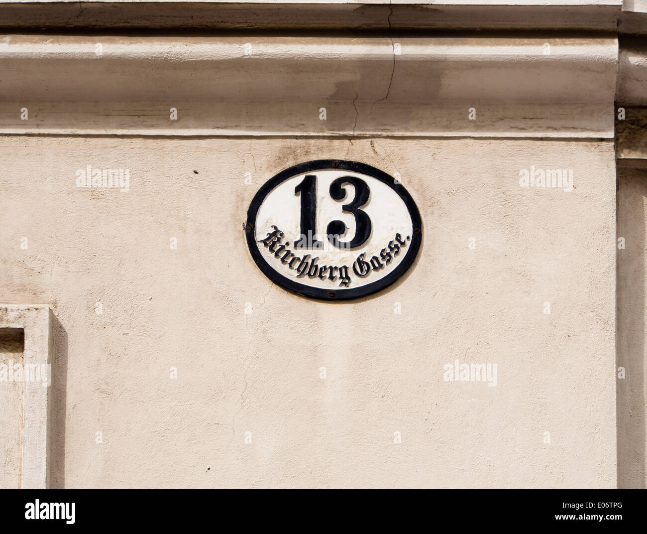 Old fashioned house numbers 87