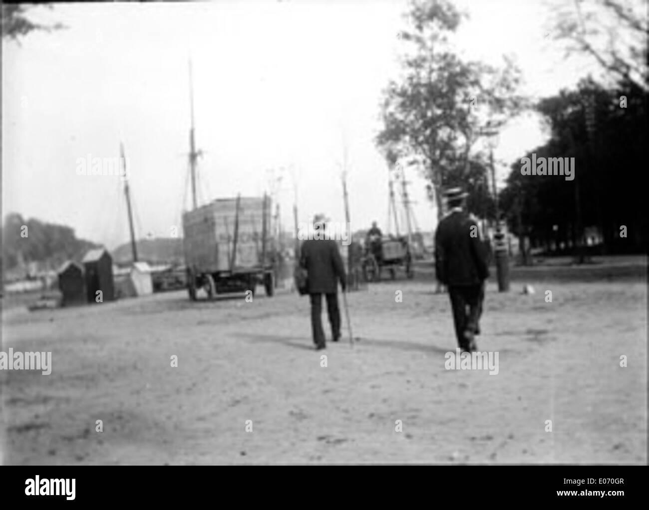 Allée De Niert Bayonne bayonne france black and white stock photos & images - alamy