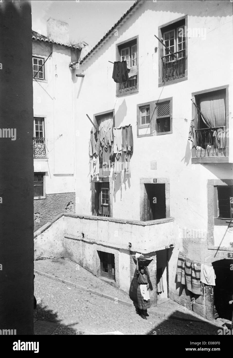 Alfama, Lisboa - Stock Image