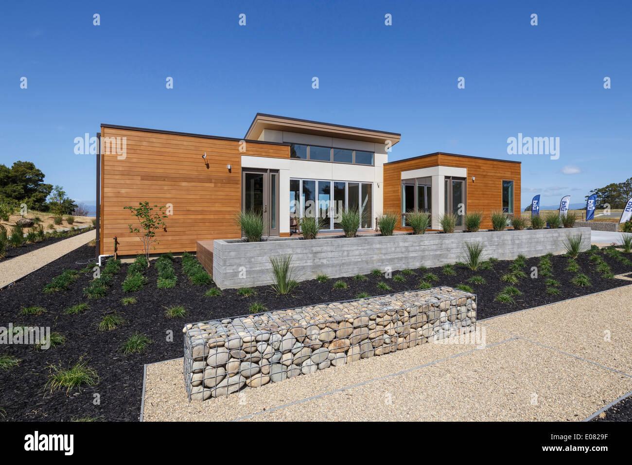 Blu homes model prefab home on mare island in vallejo ca