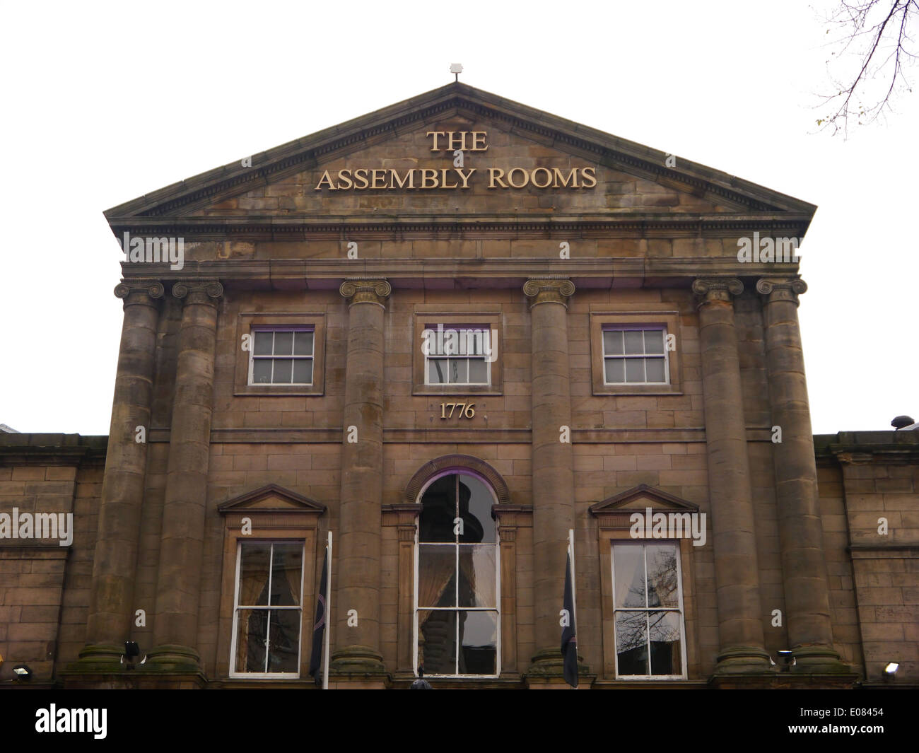 The Neo-classical Assembly Rooms, Westgate Road, Newcastle upon Tyne, UK - Stock Image