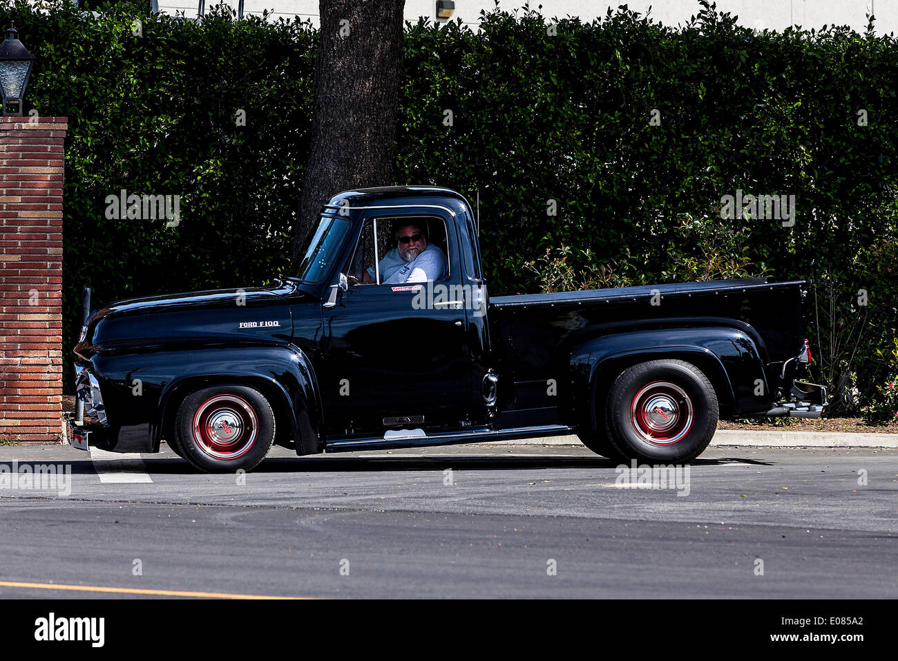 1955 Ford F100 Side Mirrors Pickup Truck Stock Photos A Era Image