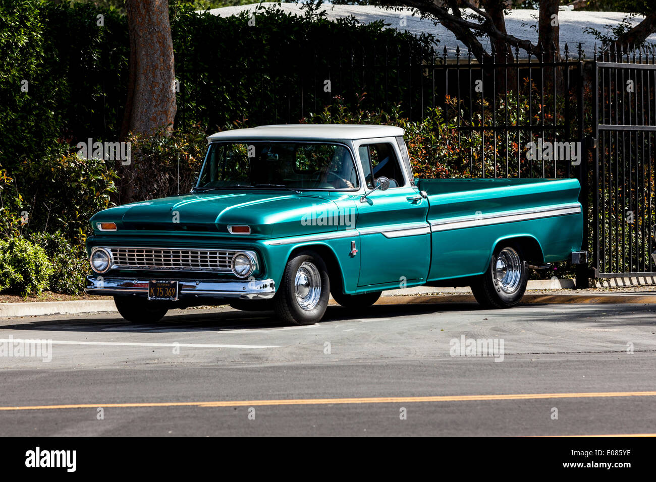 A 1963 Chevy Truck Stock Photo Alamy