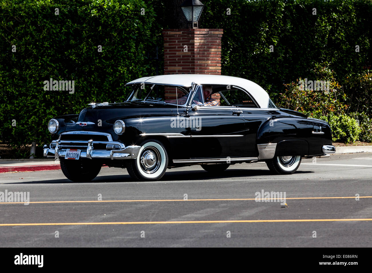 A 1951 Chevy Deluxe