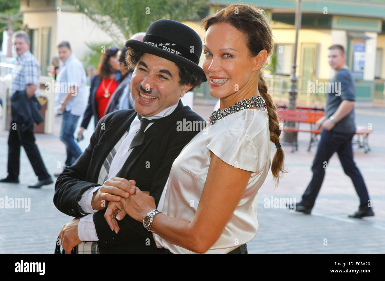 Herbolzheim, Germany - May 5, 2014: Eagles Charity Golf Cup and Gala at Golfclub Breisgau and Europa Park, Rust with Actress Sonja Kirchberger Credit:  Mandoga Media/Alamy Live News - Stock Image
