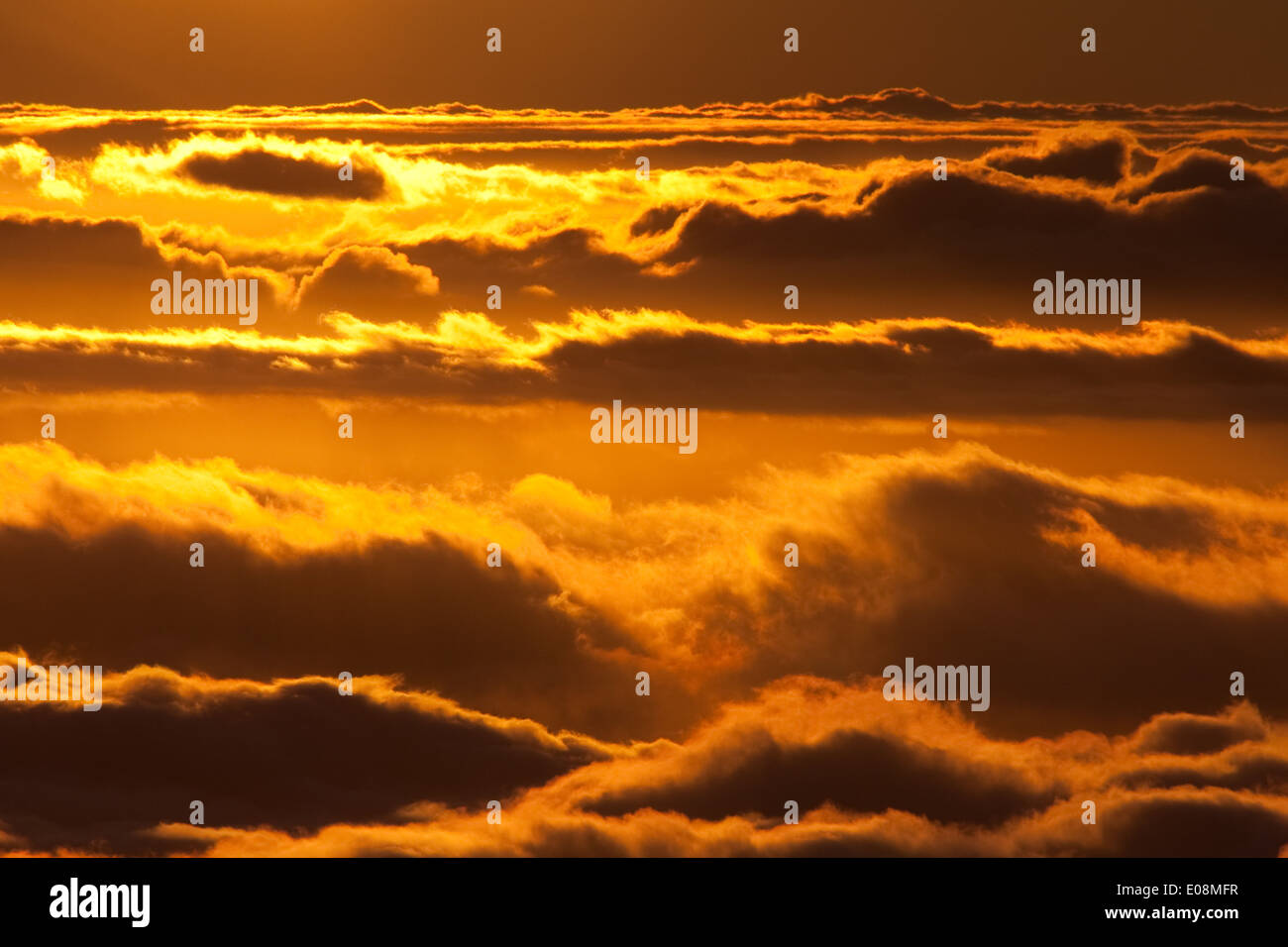 Sonnenuntergang - Sunset - Stock Image