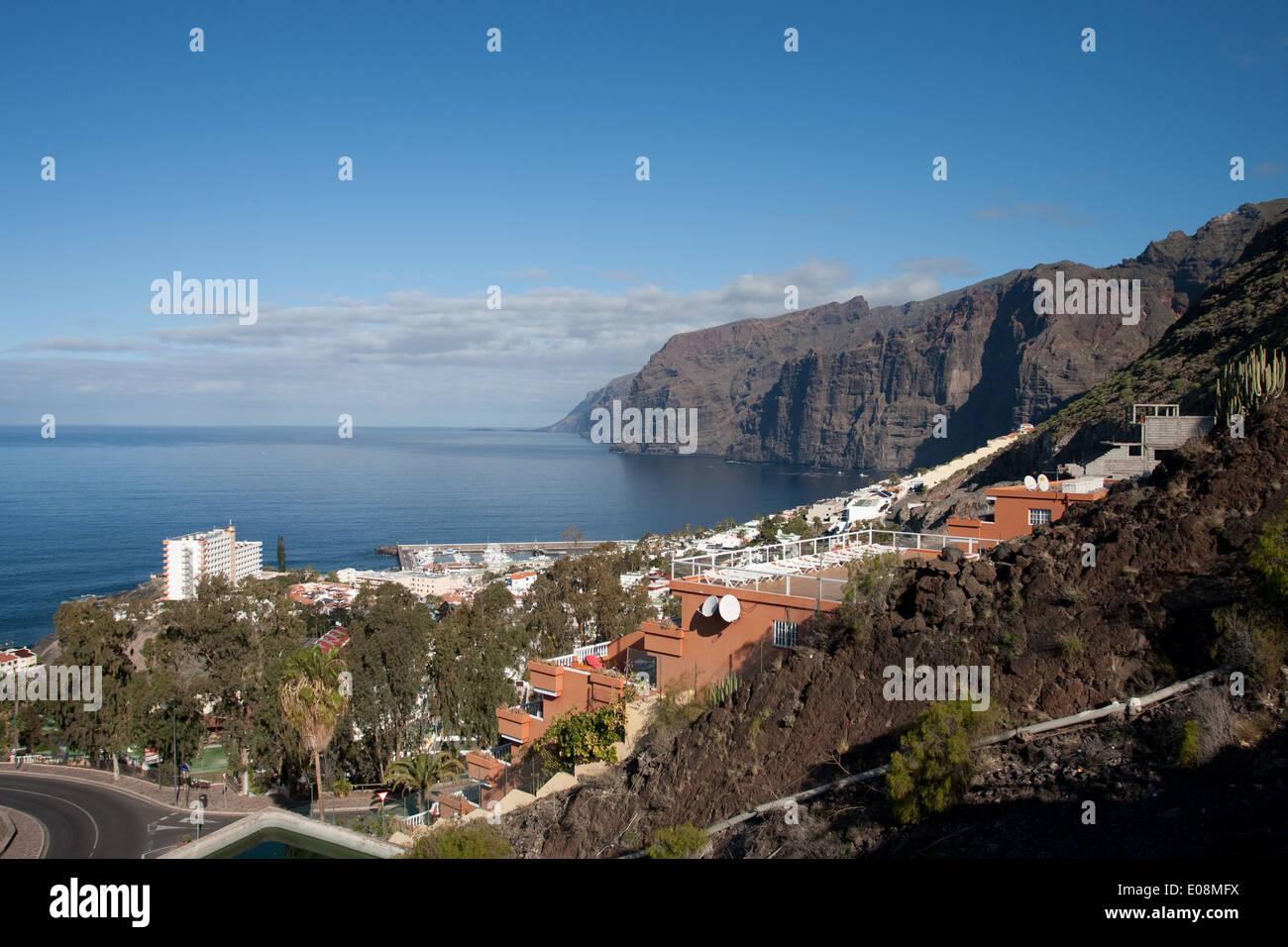 Acantilado de los Gigantes, Teneriffa, Spanien - Stock Image