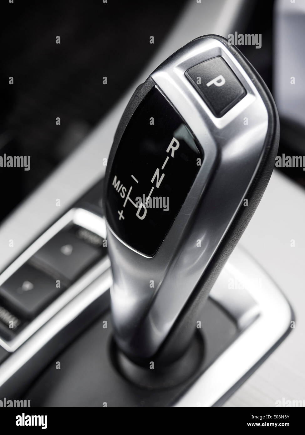 Automatic gearbox lever Stock Photo: 69033719 - Alamy