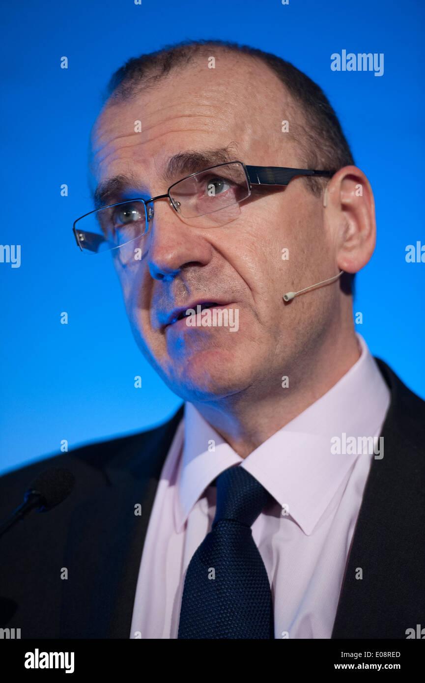 Sir Terry Leahy, former Tesco CEO Stock Photo