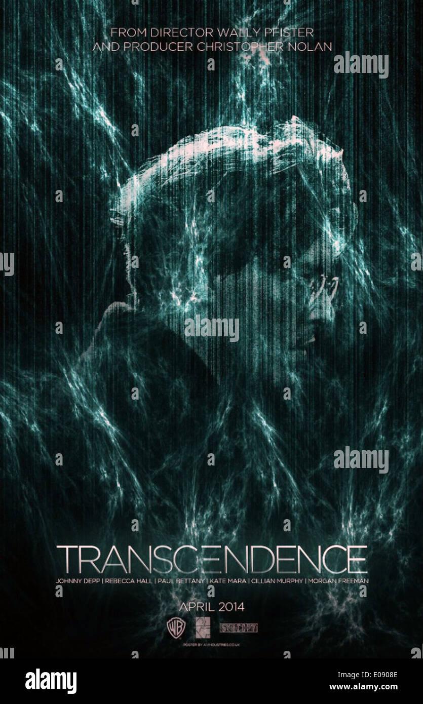 TRANSCENDENCE (2014) JOHNNY DEPP WALLY PFISTER (DIR) MOVIESTORE COLLECTION LTD - Stock Image