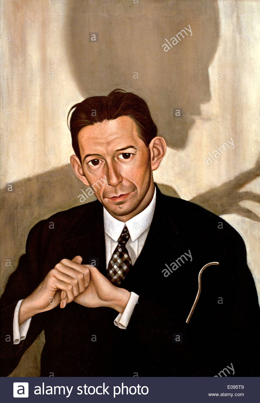Portrait of Dr Haustein 1928 Christian Schad 1894-1982 German Germany -  Stock Image