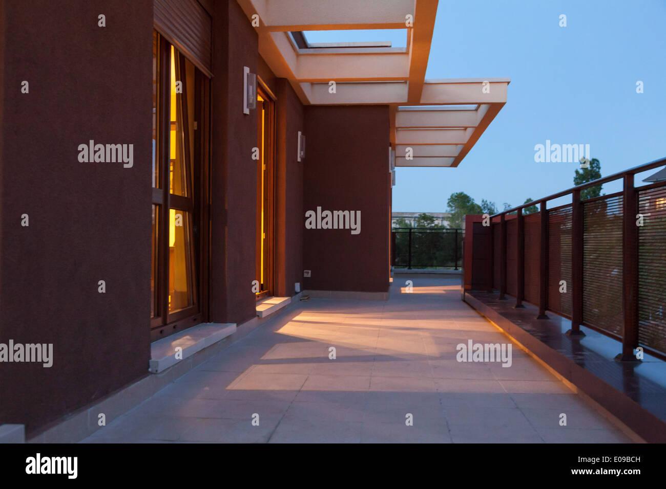 beautiful penthouse - Stock Image
