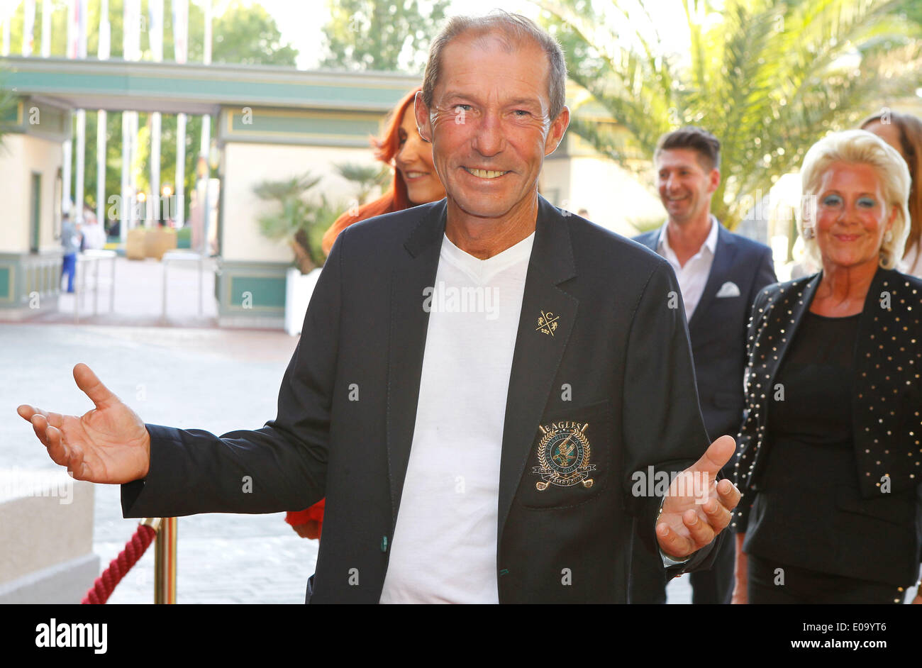 Herbolzheim, Germany - May 5, 2014: Eagles Charity Golf Cup and Gala at Golfclub Breisgau and Europa Park, Rust with Actor Michael Lesch Credit:  dpa picture alliance/Alamy Live News - Stock Image