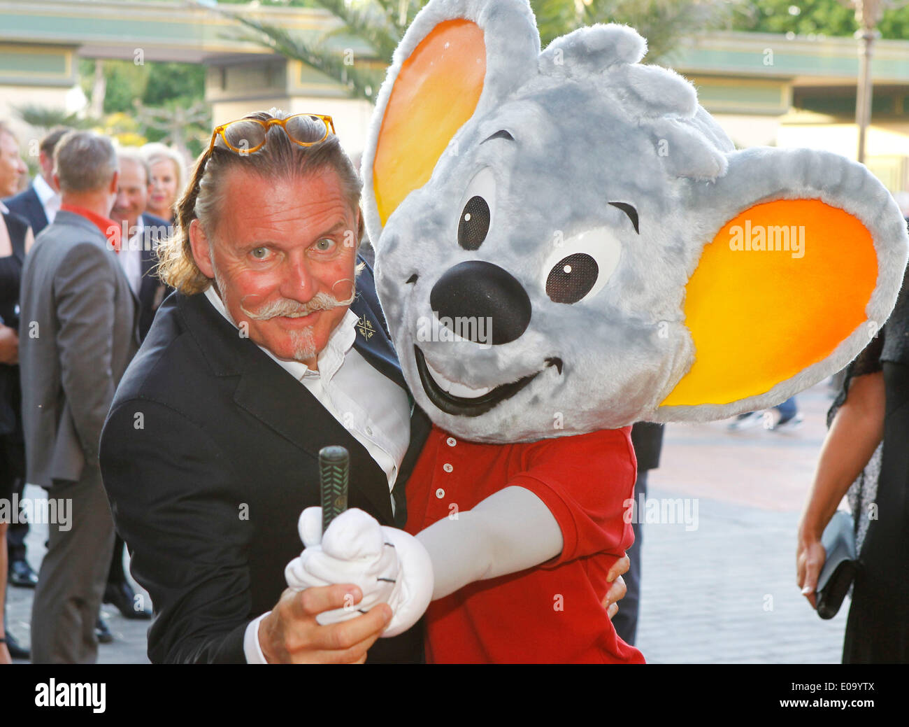 Herbolzheim, Germany - May 5, 2014: Eagles Charity Golf Cup and Gala at Golfclub Breisgau and Europa Park, Rust with Attorney and Actor Ingo Lenssen Credit:  dpa picture alliance/Alamy Live News - Stock Image