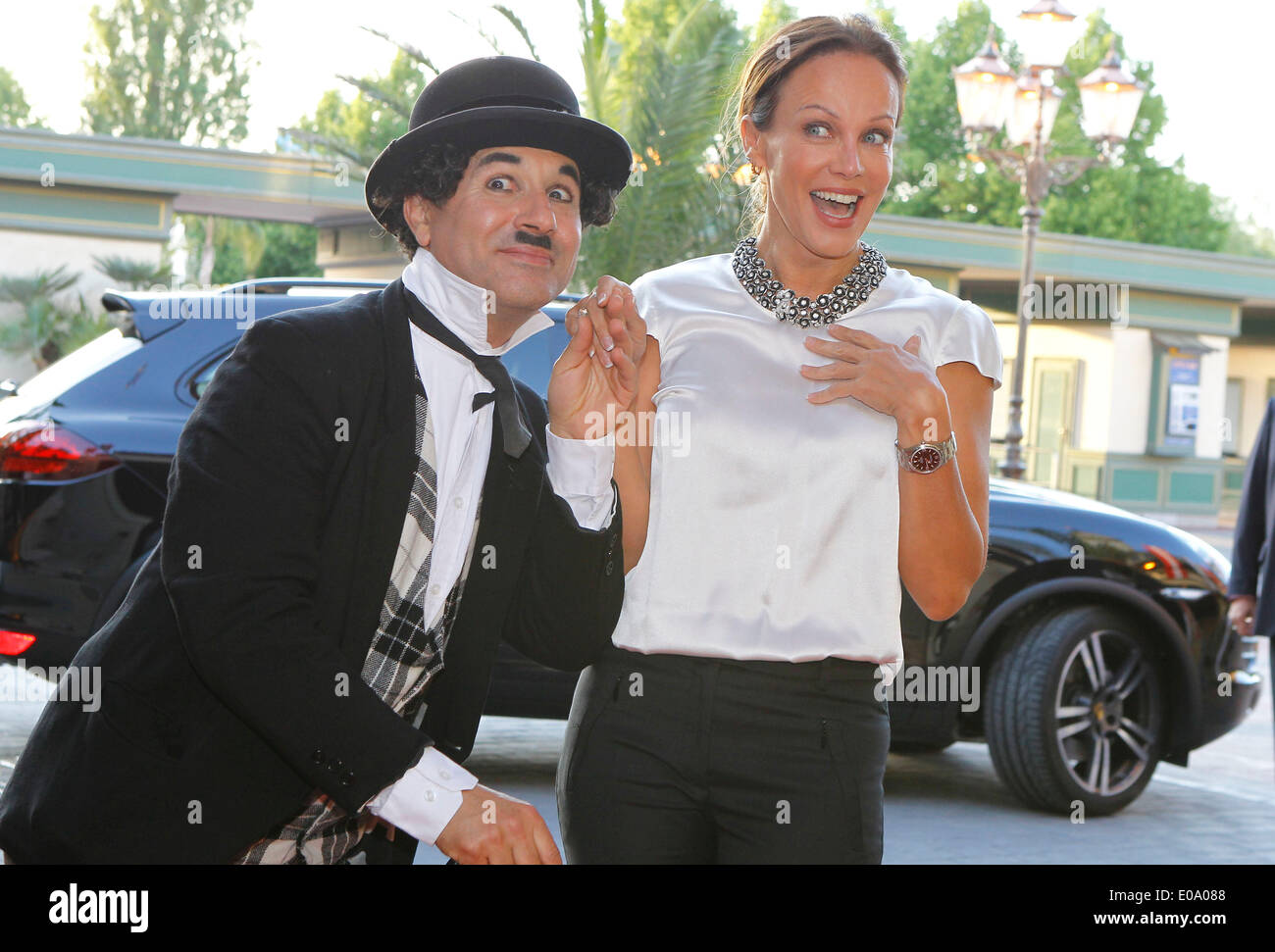 Herbolzheim, Germany - May 5, 2014: Eagles Charity Golf Cup and Gala at Golfclub Breisgau and Europa Park, Rust with Actress Sonja Kirchberger Credit:  dpa picture alliance/Alamy Live News - Stock Image