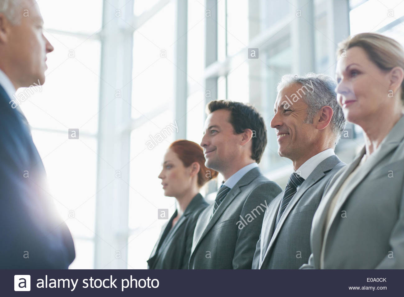 Group of business people - Stock Image